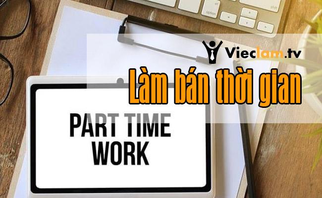 Tuyển dụng việc làm tại Làm bán thời gian